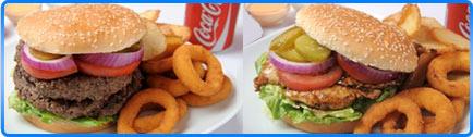 רקע מג'יק בורגר Magic Burger תל אביב