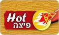 לוגו פיצה HOT גן נר