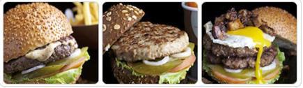 רקע בורגר סאלון Burger Saloon