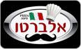 לוגו פיצה אלברטו שלומי