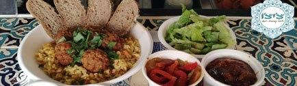 רקע צ'י'צ'ו-בר אוכל מרוקאי תל אביב שרונה מרקט