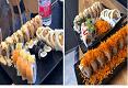 תמונת רקע טאקומי סטריט פוד Takumi street food שוהם