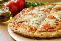 תמונת רקע פיצה מרגריטה