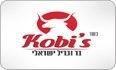 לוגו Kobi's בר וגריל ישראלי טירת הכרמל