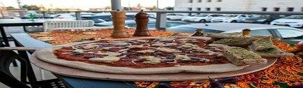 רקע פיצה מחמצת בטאבון באר שבע