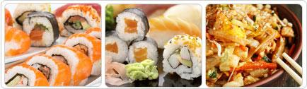 רקע Kawa sushi bar