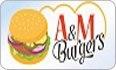 לוגו A&M BURGERS חיפה