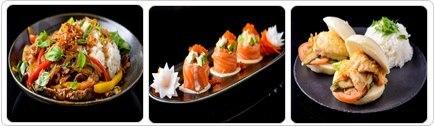 רקע Nori- kitchen & Sushi bar נתניה