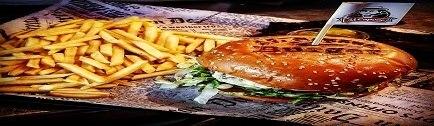 רקע Alcapone Burger אלקפונה בורגר באר שבע