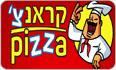 לוגו פיצה קראנצ' נתניה - שטמפפר יהושע