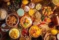 תמונת רקע מסאלה מטבח הודי אותנטי