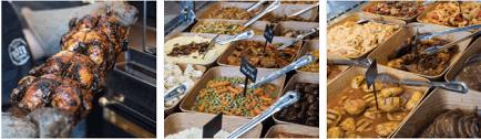 רקע Roti-מעדניה ואוכל בסגנון ביתי