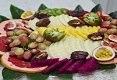 תמונת רקע פירות ומתוקים Fruta Fiesta
