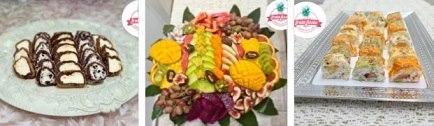 רקע פירות ומתוקים Fruta Fiesta