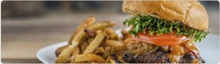 רקע רודיס בורגר בר-Rudie's Burger Bar