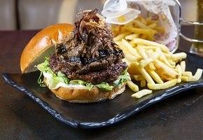 עסקית המבורגר בקר