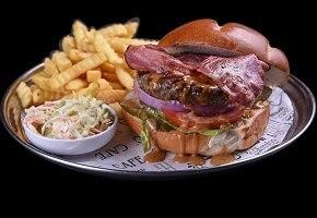 המבורגר אסאדו 200 גרם
