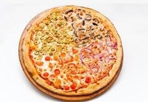 מבצע מגש פיצה XL + שתי תוספות