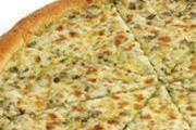 פיצה אישית ברוטב אלפרדו