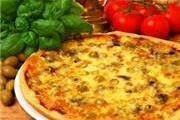 מגש פיצה אישי ברוטב אלפרדו